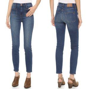 Madewell 'High Riser' Sailor Skinny Stretch Jeans